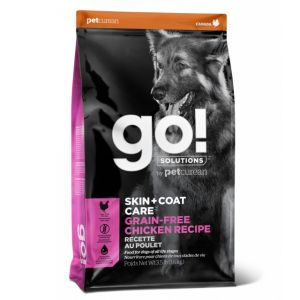 Корм сухой GO SKIN + COAT беззерновой для собак всех возрастов с цельной курицей 11.3кг