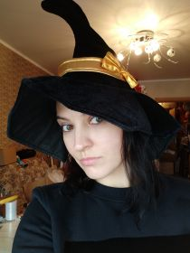 Волшебная шляпа с бантом - Wizard hat with ribbon