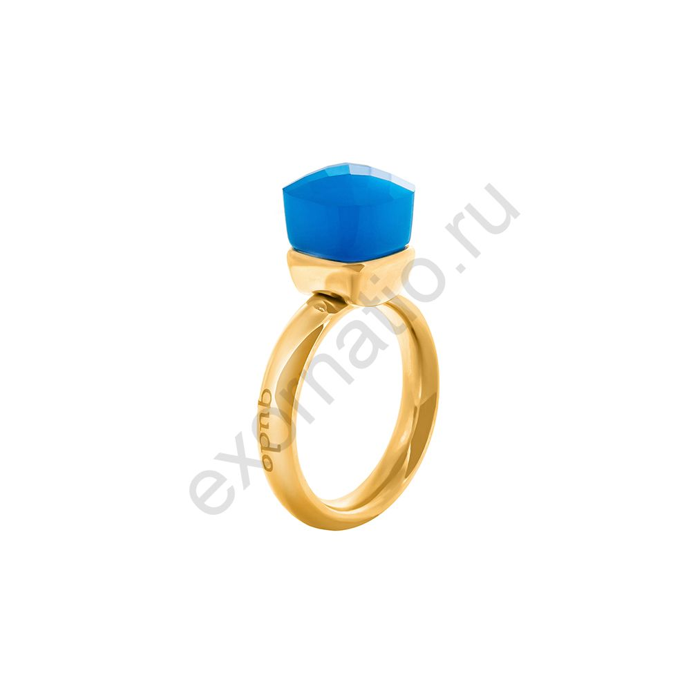 Кольцо Qudo 610543/17.2 BL/G