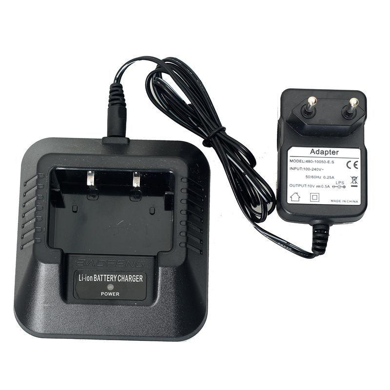 Зарядный стакан и адаптер для рации Baofeng UV-5R / UV-6R / DM-5R