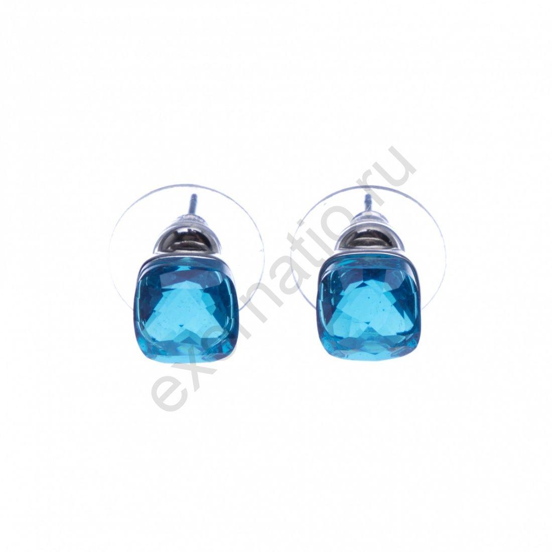 Серьги Fiore Luna 14A26EP002 XH101 BL/BW