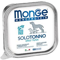Monge Dog Monoprotein Solo консервы для собак паштет из тунца