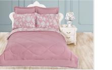Комплект постельного белья Бромелия с одеялом семейный  Арт.1509/4