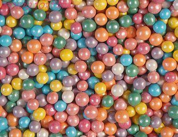 """Шарики сахарные """" Цветной микс"""" ( d-5мм) перламутровый вес 50 гр."""