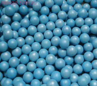 """Шарики сахарные """" Жемчуг Голубой"""" ( d-3мм) перламутровый вес 50 гр."""