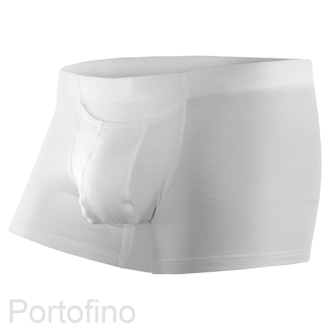 Daitres боксеры удлиненные (внутренняя резинка) Хлопок Белые