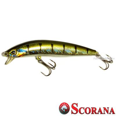 Воблер Scorana Downhead Minnow 95F 95 мм / 12 гр / Заглубление: 0 - 0,2 м / цвет: BP
