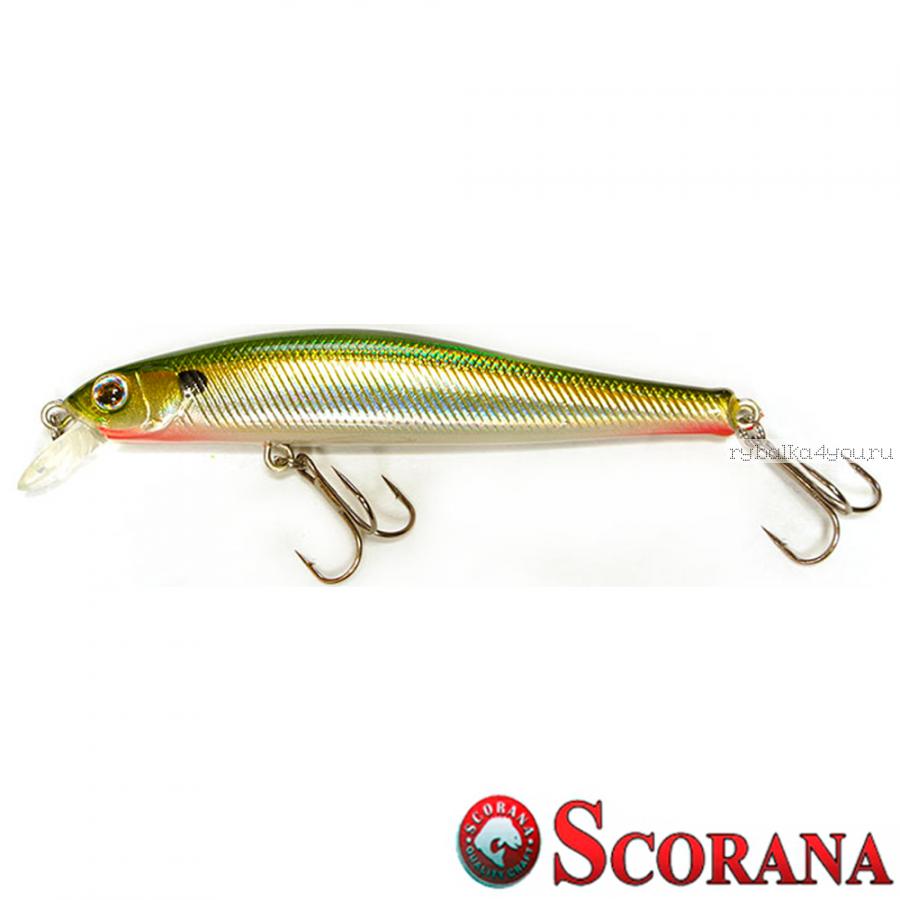 Воблер Scorana Edge Minnow 95F 95 мм / 9,5 гр / Заглубление: 0,5 - 1 м / цвет: SBR