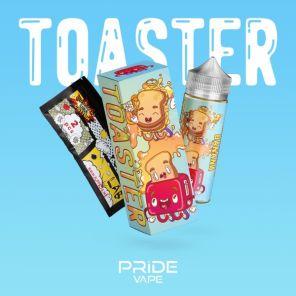 Е-жидкость Toaster- Chocolate, banana, 120 мл.