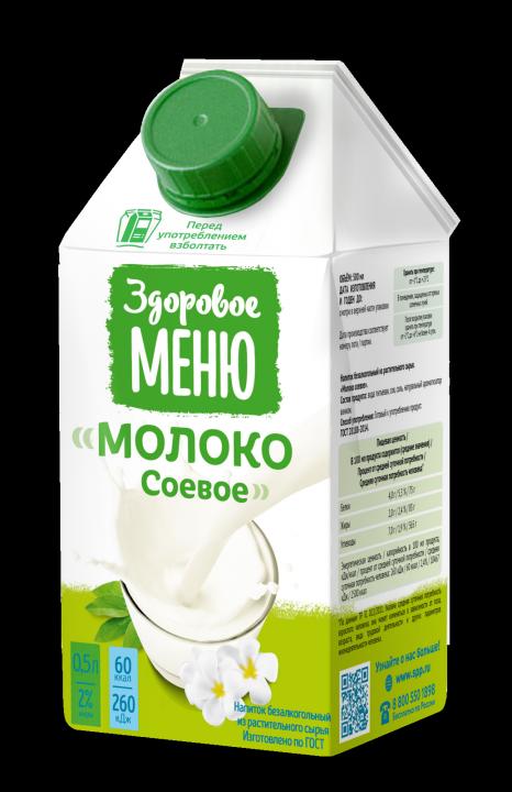 Молоко Соевое т/пак 500 г ООО Союзпищепром