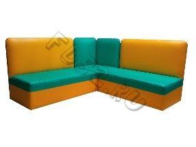 Детская мягкая мебель «Дошколенок» (угловая)