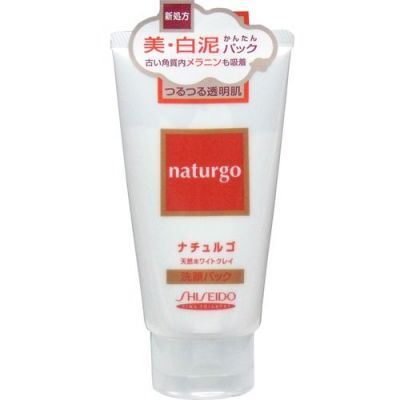 """""""SHISEIDO"""" """"Naturgo"""" Маска для лица с натуральной белой глиной, 120 гр."""