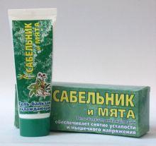 """Ф-194 Гель-бальзам охлаждающий """"Сабельник и мята"""", 75мл"""