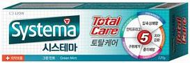 CJ Lion Зубная паста Systema для полной защиты с ароматом зелёной мяты 120 г