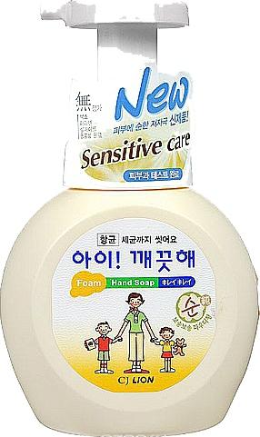 CJ Lion Пенное мыло для рук Ai - Kekute Sensitive для чувствительной кожи флакон-дозатор 250 мл