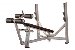 Олимпийская скамья с отрицательным углом наклона AeroFit Inotec E36