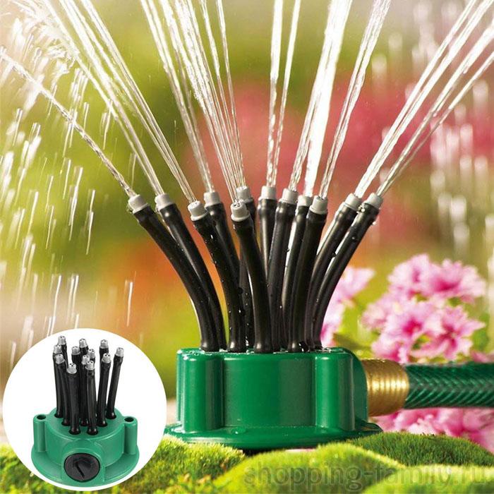 Дождеватель для газона Multifunctional Sprinkler