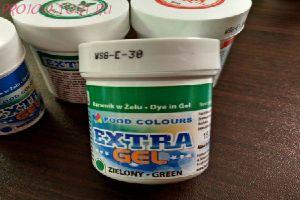 Пищевой краситель Экстра-гелевый  Зелёный Food Colours баночка 35гр