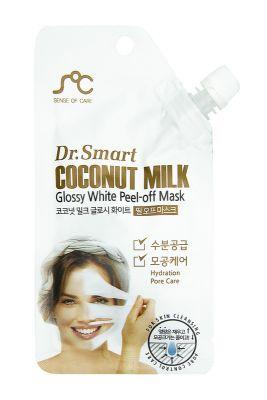 Dr. Smart Маска-пленка для лица с кокосовым молоком