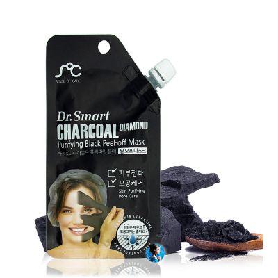 Dr. Smart Маска-пленка для лица с древесным углем
