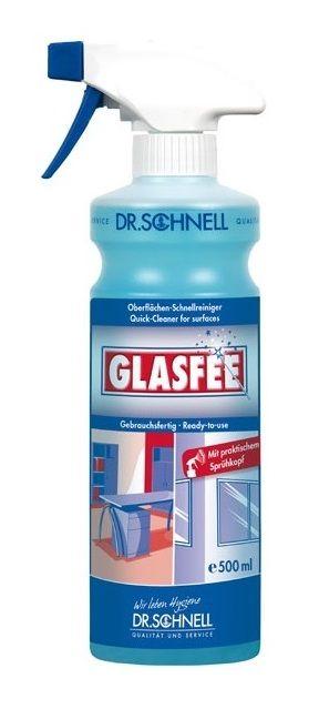 Dr.Schnell Glasfee (Гласфи) Очиститель стекла и пластика со спреем, 500мл