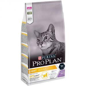 Корм сухой Pro Plan Light для кошек с индейкой 0,4 кг