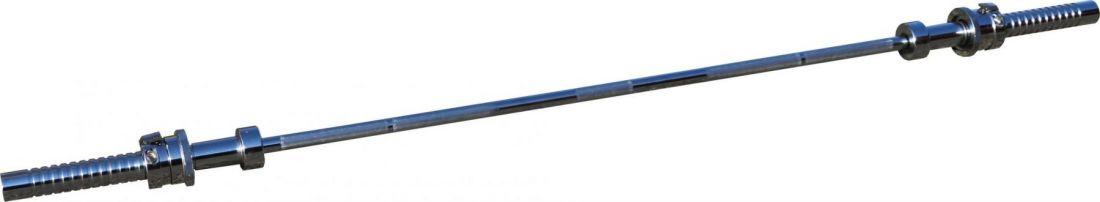Гриф для штанги ZSO, усиленный, сложный, D-50, L2200, до 500 кг, олимпийский замок 2x2,5 кг