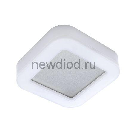 Светильник светодиодный RING-1540R-W 15Вт 230В 4000К 910лм 190мм IP65 КВАДРАТ IN HOME