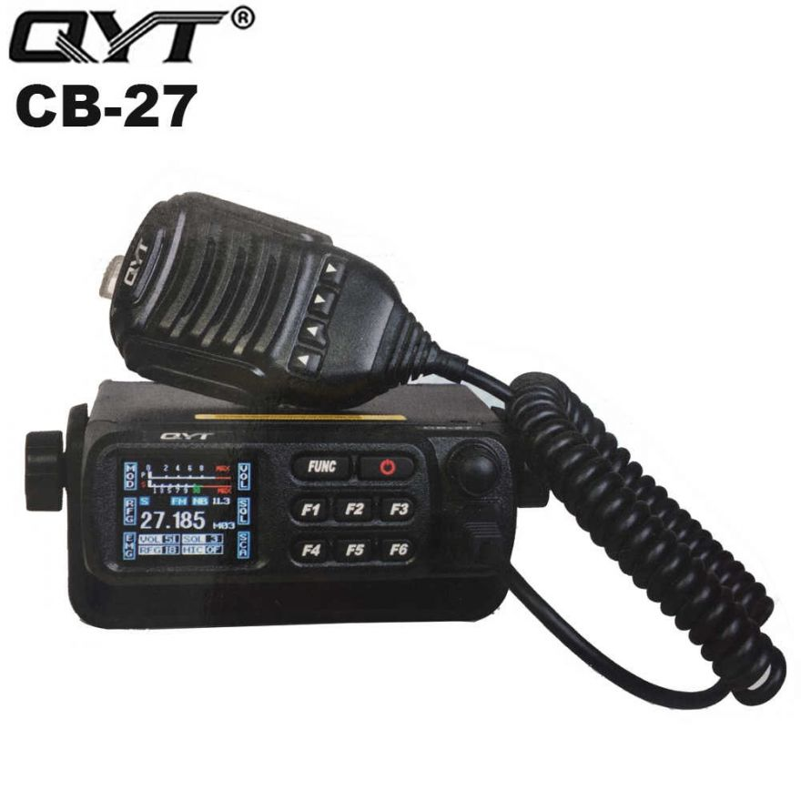 Автомобильная рация QYT CB-27 4 Ватт