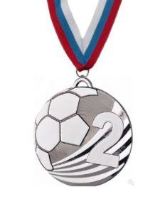 Медаль Ливерпуль наградная с лентой 2 место 50 мм