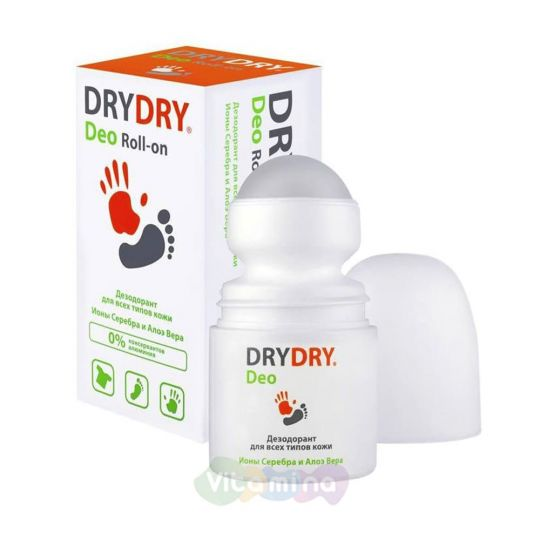 DRY DRY Deo Дезодорант для всех типов кожи, 50 мл