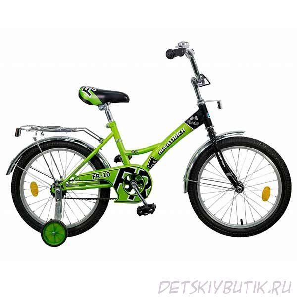 """Велосипед детский NOVATRACK FR-10 18"""" (2015), зеленый"""