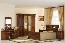 Спальня ВАЛЕНСИЯ пегас 4-дверный шкаф