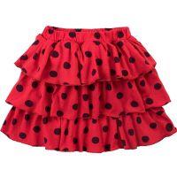 Юбка для девочек 2-5 лет Bonito BK1193Y красная