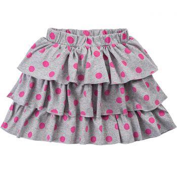 Юбка для девочек 2-5 лет Bonito BK1193Y серая