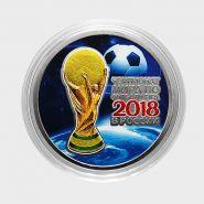 25 рублей ФИФА - №20. ЦВЕТНАЯ ЭМАЛЬ