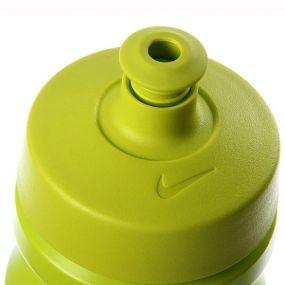 Бутылка Nike big mouth спортивная бело-салатовая