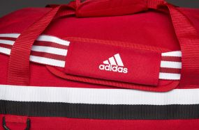 Сумка adidas Tiro 15 Team Bag Bottom Compartment Large красная