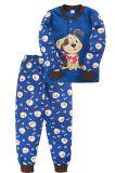 Пижама для мальчика Bonito синяя с собачкой