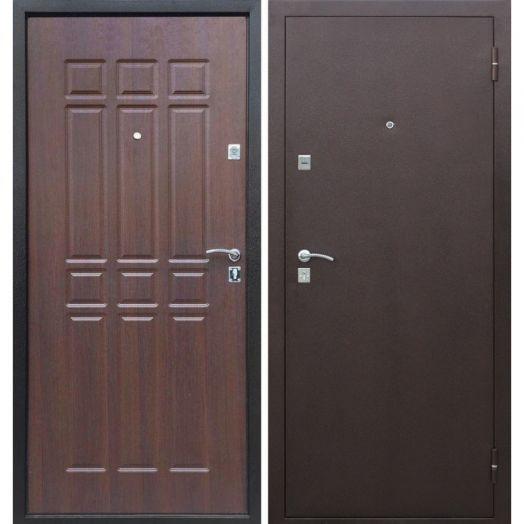 Входная дверь СОПРАНО (шоколадный дуб)