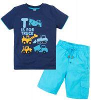 Костюм для мальчика 2-5 лет Bonito OP344 синий