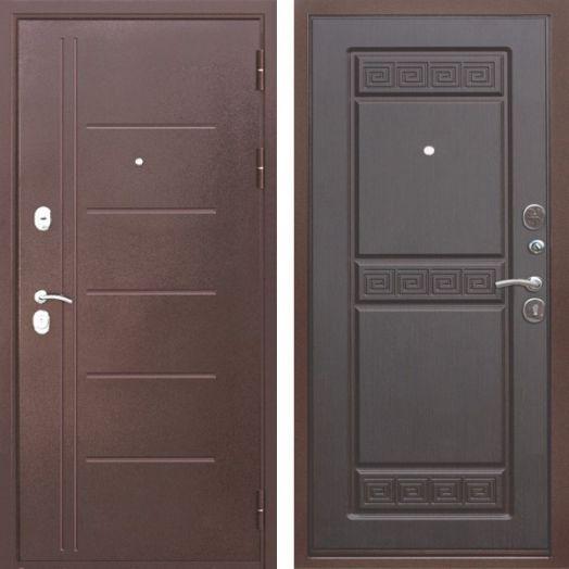 Входная дверь ТРОЯ МУАР 10 см (венге)