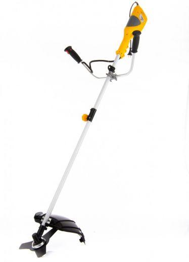 Триммер электрический TE-1400, 1400 Вт, 420 мм, катушка + диск, разборная штанга Denzel