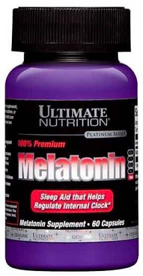 Melatonin от Ultimate Nutrition 3 мг 60 кап