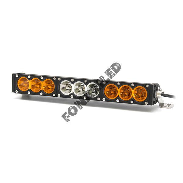 Однорядная светодиодная балка OBP-90W Combo комбинированный свет (длина 42 см, 17 дюймов)