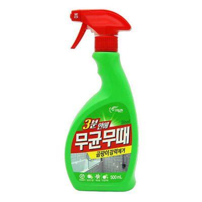 Pigeon Bisol Чистящее средство для ванной комнаты от плесени с ароматом трав 500 мл с распылителем