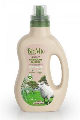 BioMio Bio-Soft Экологичный кондиционер для белья с экстрактом хлопка с эфирным маслом мандарина 1 л