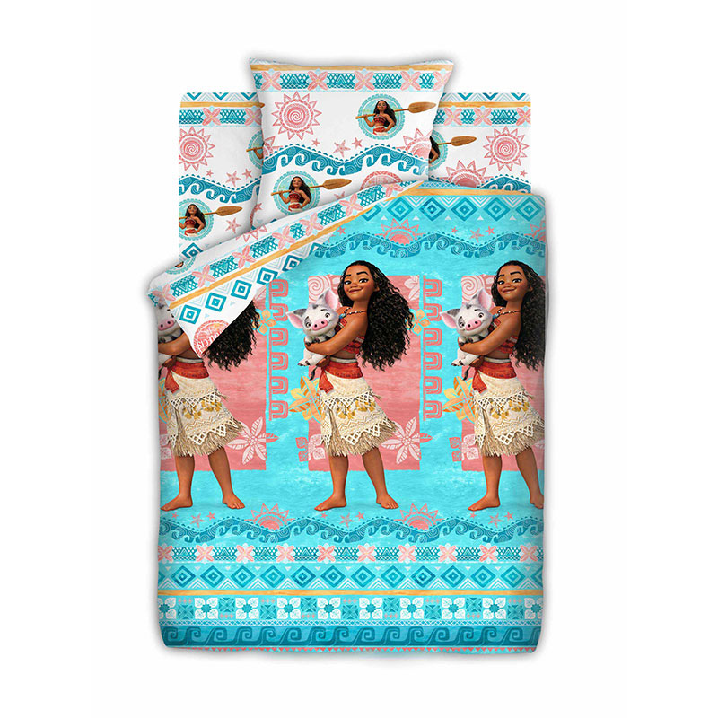 "Детское постельное белье ""Моана и Пуа"", рис.8900+8901 (Моана), 1.5сп."