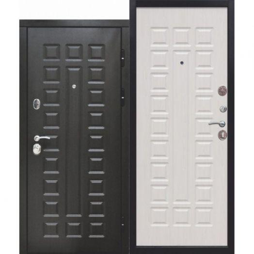 Входная дверь 10 см Монарх Белый ясень