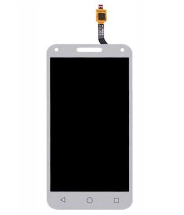 LCD (Дисплей) Alcatel 4047D U5 (в сборе с тачскрином) (white) Оригинал